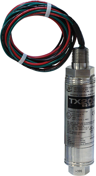 Hermetically sealed pressure transmitters