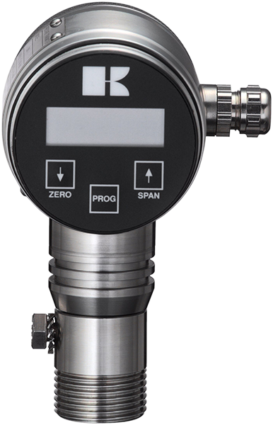 Intelligent pressure transmitter