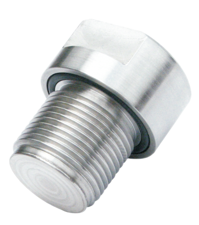 Threaded diaphragm seals with face diaphragm